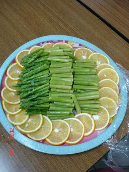 鏡妹阿姨的蘆筍拼盤
