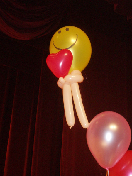 可愛的氣球娃娃