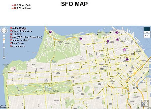 SFO-MAP