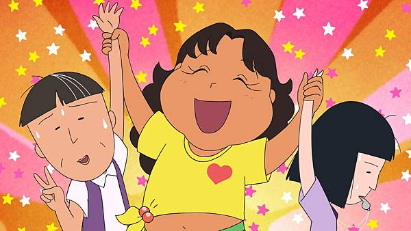 001【電影版櫻桃小丸子】劇照_本片的巴西少女茱莉亞(中),由影星渡邊直美爆笑獻聲