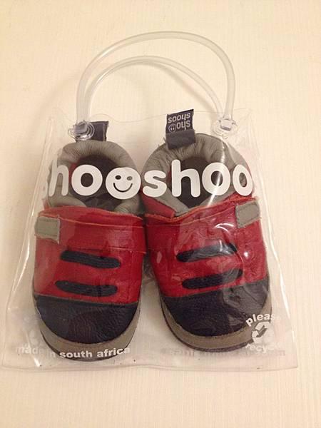 ▌拍賣 ● 二手學步鞋▐ 英國 shooshoos 真皮學步鞋