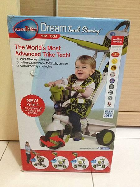 ▌一歲 ● 生日禮物▐ 英國SmarTrike 4合1三輪車