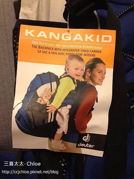 ▌地表最強爸爸包▐ 居然有可揹嬰兒的後背包!Deuter Kangakid對付大北鼻超強