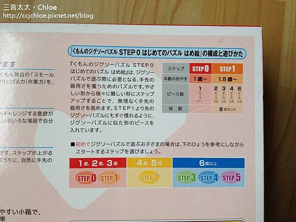 ▌1Y8M▐  日本KUMON公文拼圖
