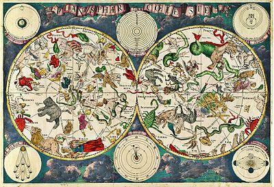 57弗雷德里克·德·威特在1670年繪製的星座圖.jpg