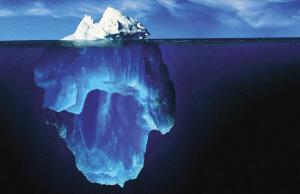 61海面下的冰山壁