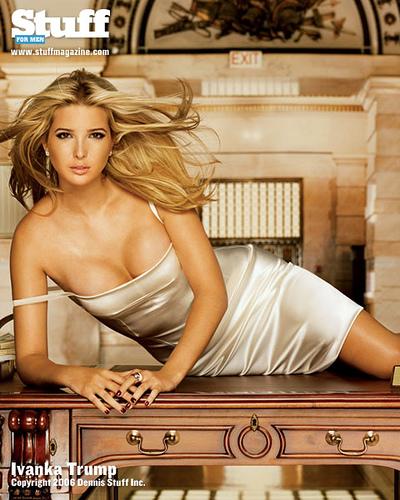 全球最性感的美女首富--紐約地產大王唐納德川普的女兒 7