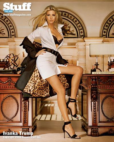 全球最性感的美女首富--紐約地產大王唐納德川普的女兒 1