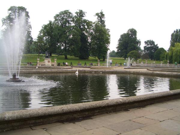 Kensington Gardens裡的一角