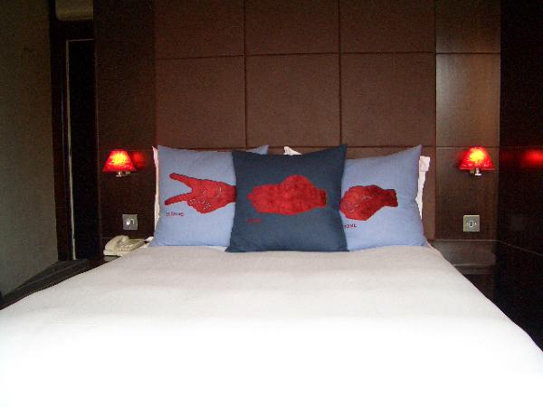 很舒服的床^^