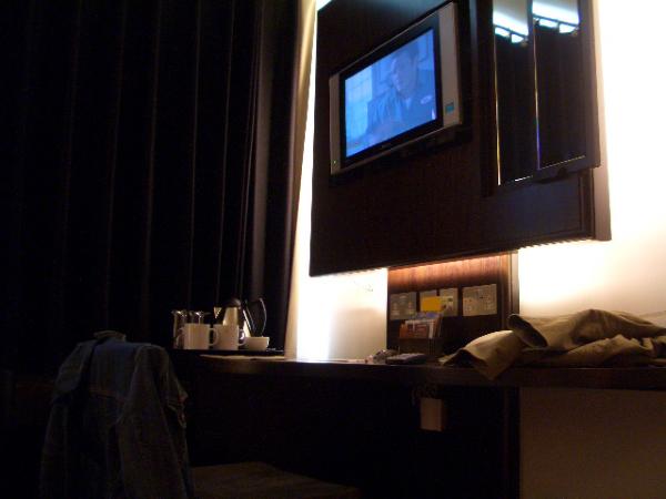 房內是液晶電視