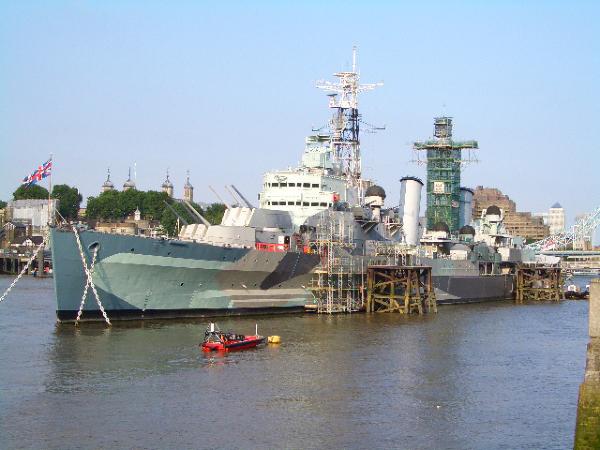 H.M.S Belfast貝爾法斯特號