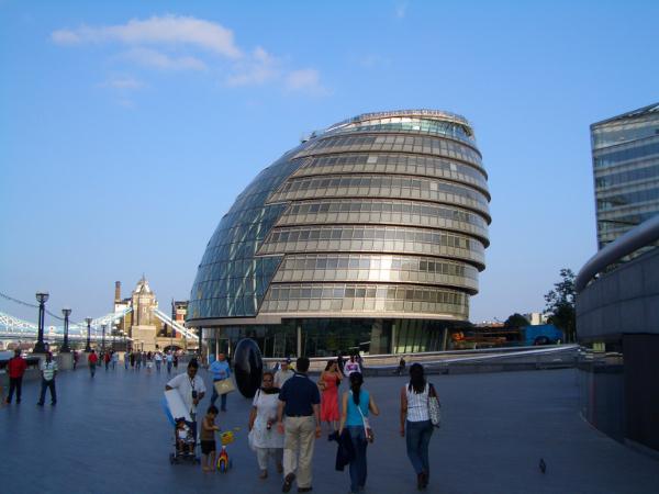 形狀十分特殊的建築物