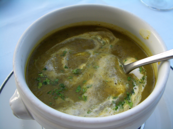 我的前菜-Hot W'cress Soup