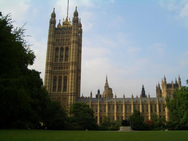 背面看國會議事堂