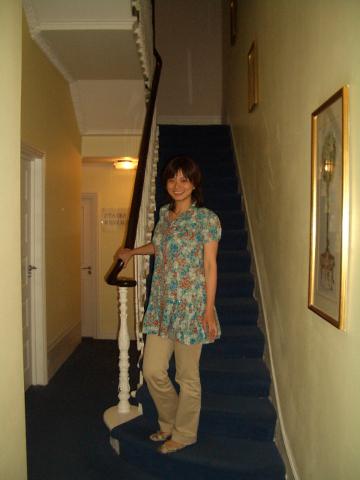 旅館內部...不過我們是住地下室拉...
