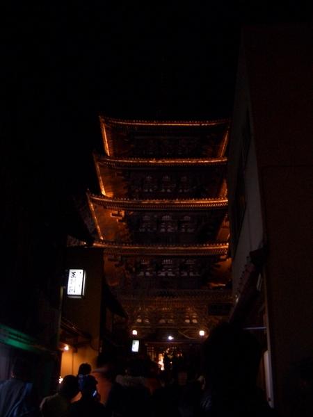八坂塔(沒有用夜間功能時照的)