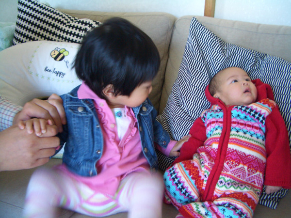 Haruka:竟還有比我小隻的