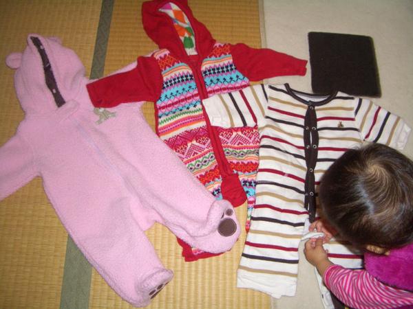 陪唯妹去年渡過冬天的3件小衣