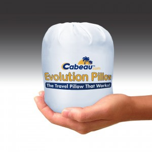 evolution-pillow-product-in-bag-display-cabeau-blue