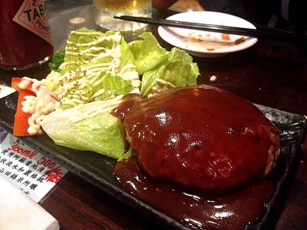 章魚空-日式漢堡排