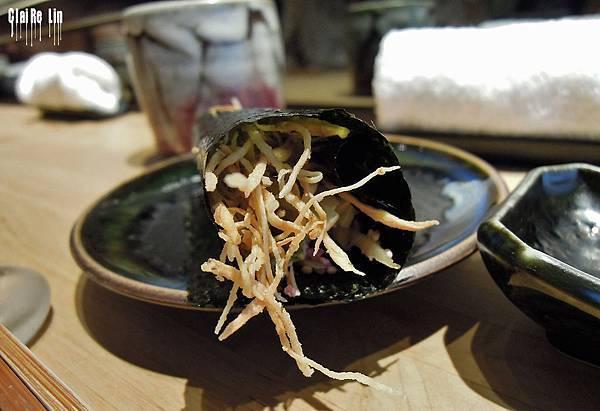 昇壽司-蘋果牛蒡手捲