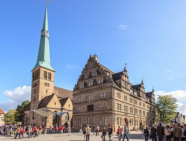 Deutschland-Hameln-Hochzeitshaus