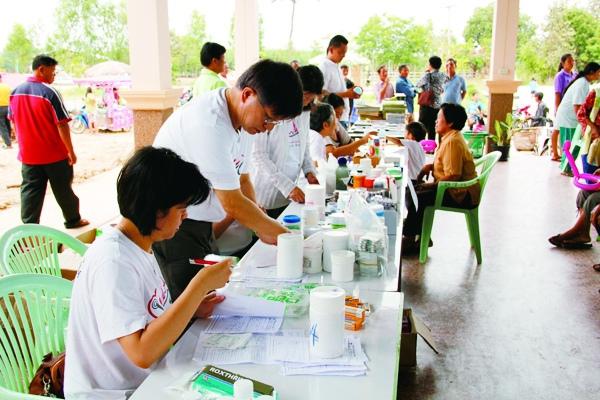 泰國義診-醫療服務櫃台.JPG