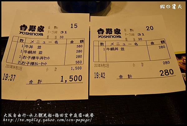 大阪自由行-水上觀光船+梅田空中庭園+晚餐_DSC9634