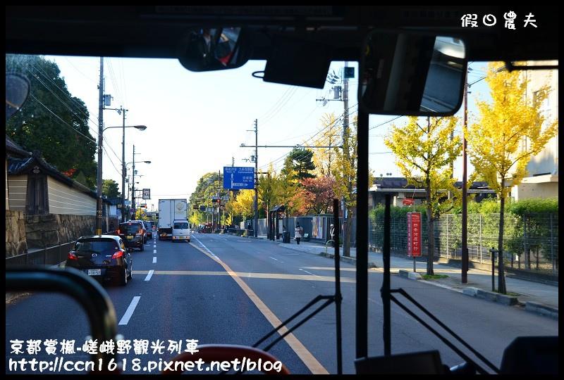 京都賞楓-嵯峨野觀光列車DSC_3788