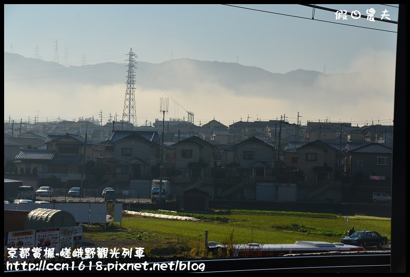京都賞楓-嵯峨野觀光列車DSC_3813