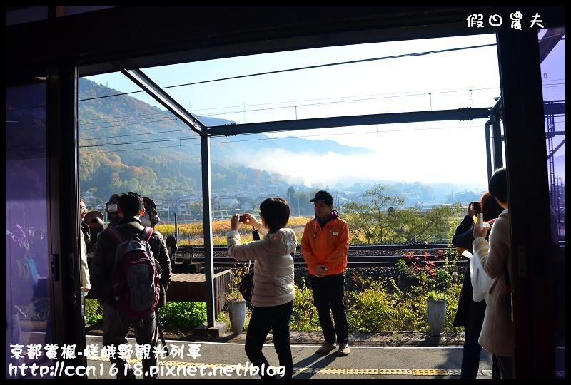 京都賞楓-嵯峨野觀光列車DSC_3828