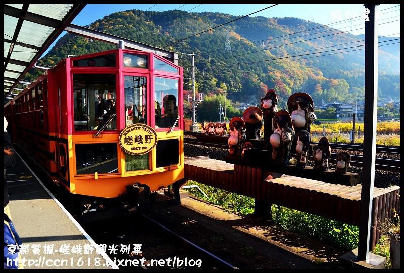 京都賞楓-嵯峨野觀光列車DSC_3841