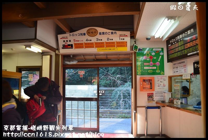 京都賞楓-嵯峨野觀光列車DSC_4234