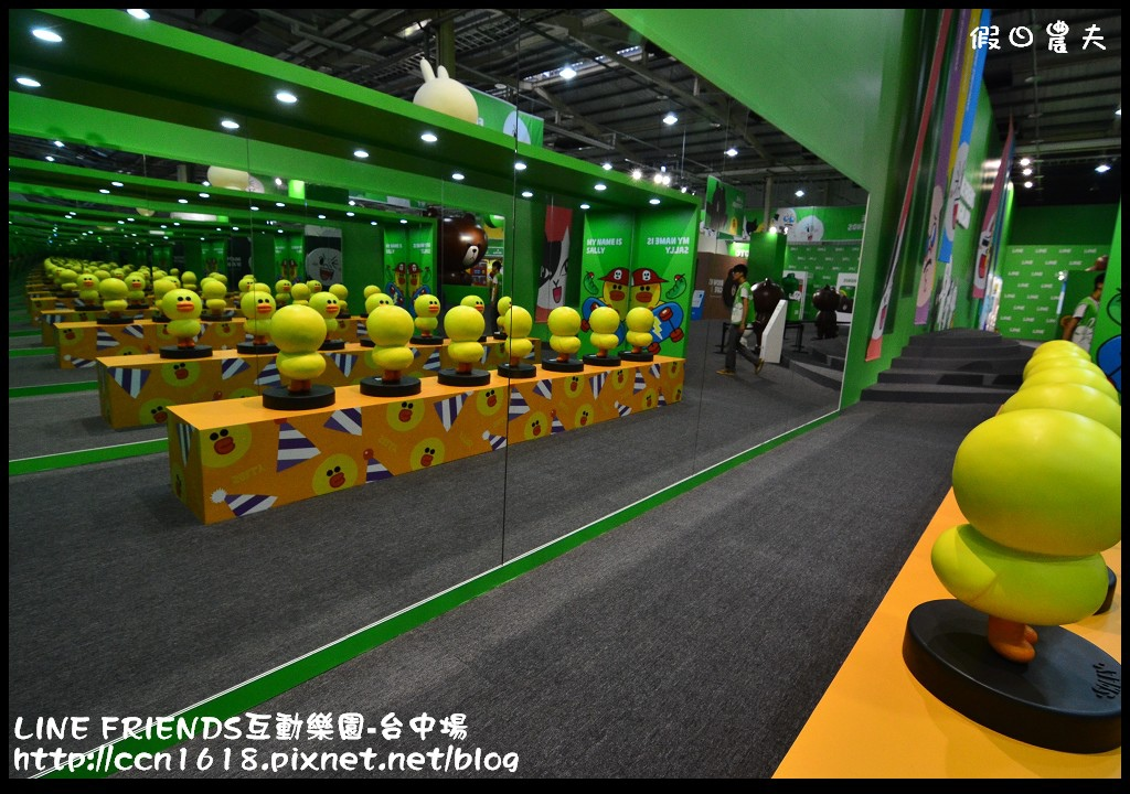 LINE FRIENDS互動樂園-台中場DSC_0328