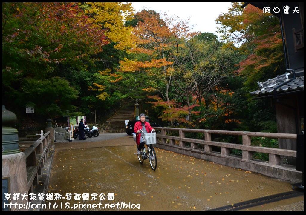 京都大阪賞楓趣-箕面國定公園DSC_6270