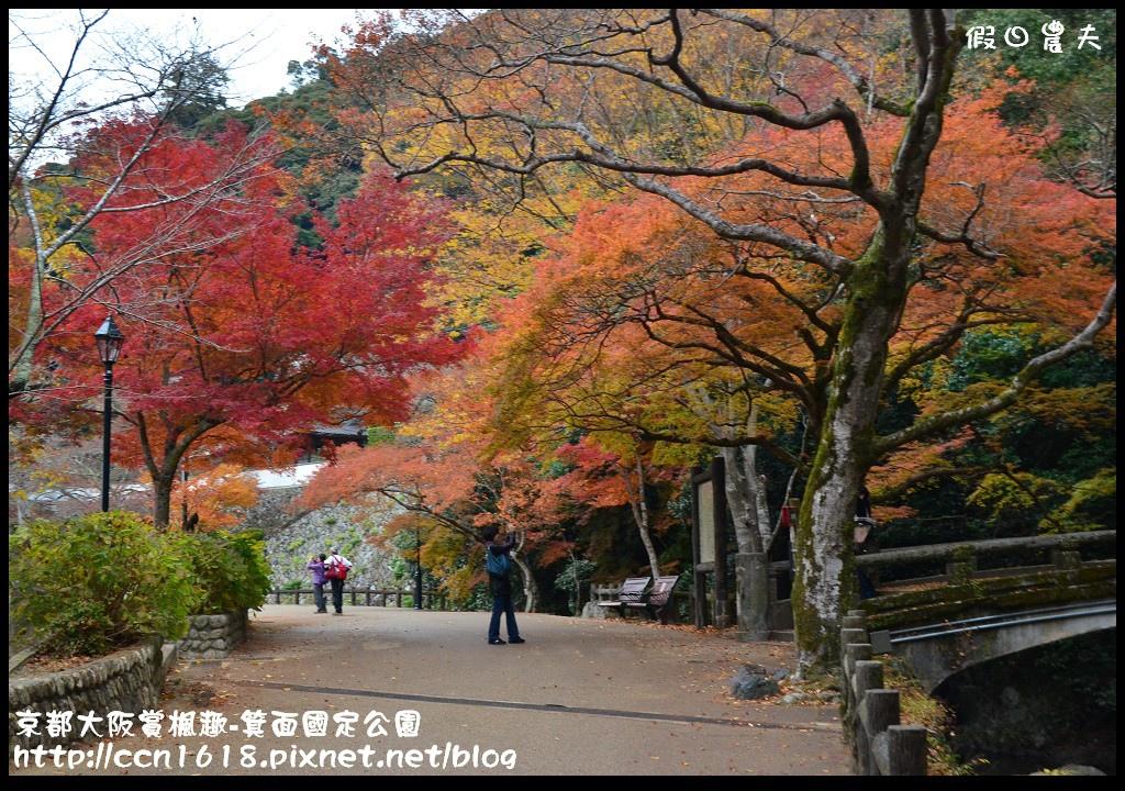 京都大阪賞楓趣-箕面國定公園DSC_6380