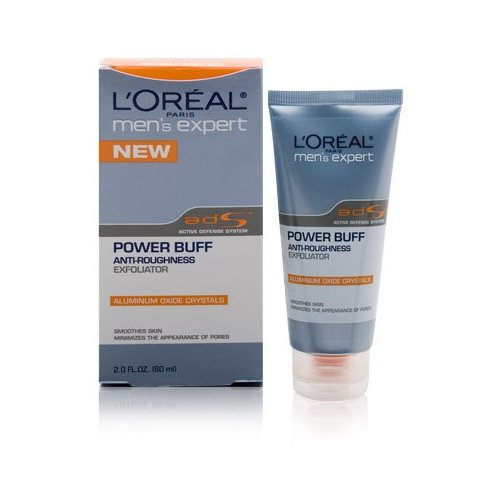 L'Oreal Men's Expert Power Buff Anti-Roughness Exfoliator.jpg