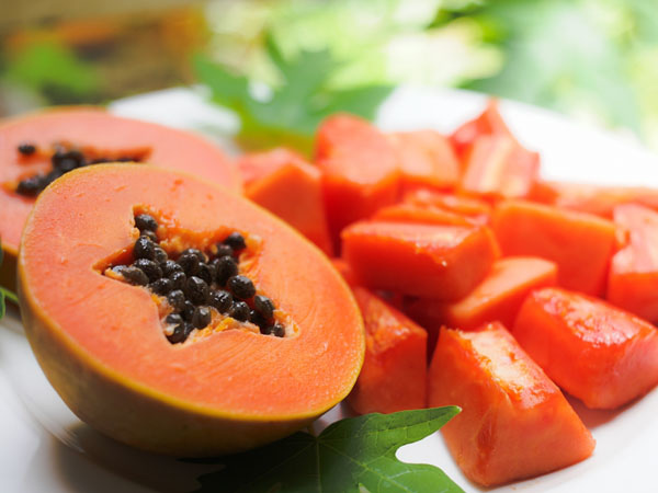 產後胸部變大食物-木瓜