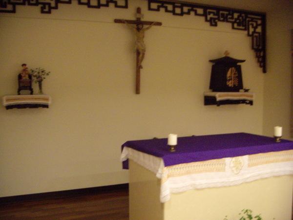 修女家漂亮的祈禱所
