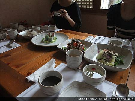 第二天午餐-仁寺洞하을풍켱韓食餐廳