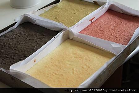 《五行蛋糕研發中》
