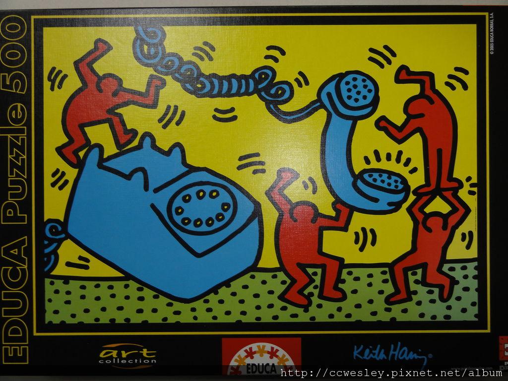 大香菇的 Keith Haring 拼圖