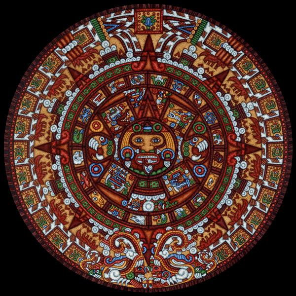 049-Dowdle - Aztec Calendar
