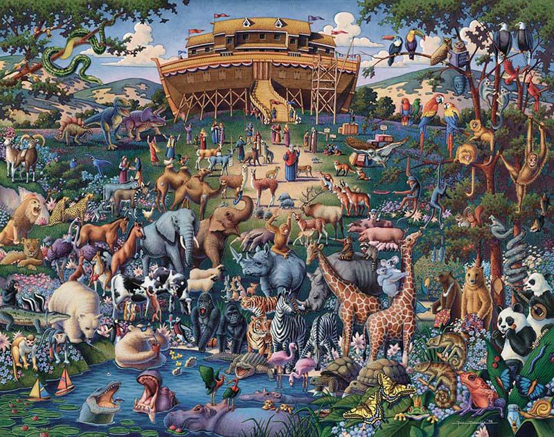 058-Noah's Ark - Luggage Edition