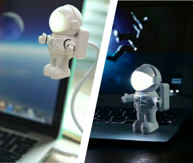 交換禮物_太空人造型夜燈