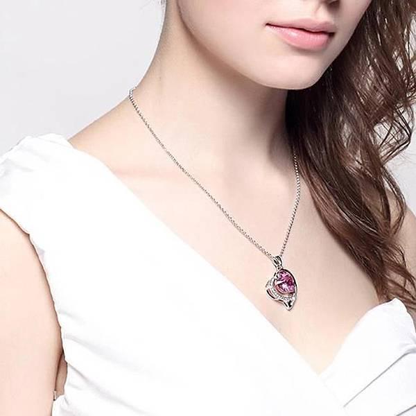 愛情魔法石--水晶項鍊