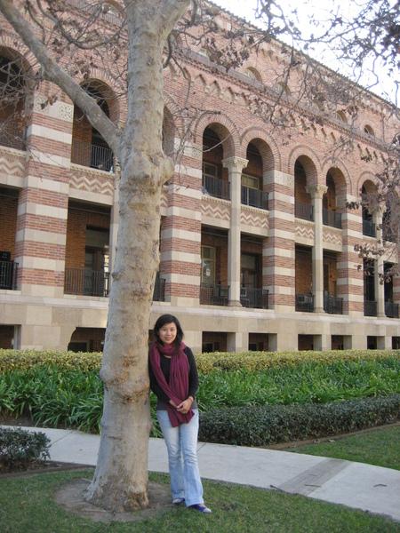 媽媽 夢想中的UCLA~~