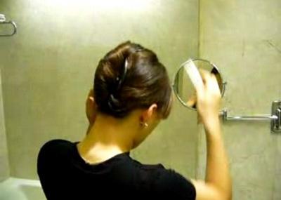盤髮教學(一)