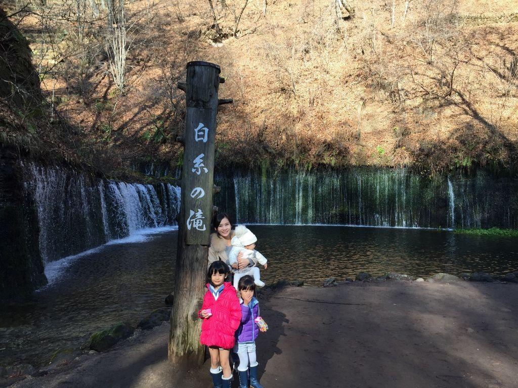 輕井澤 白糸の滝